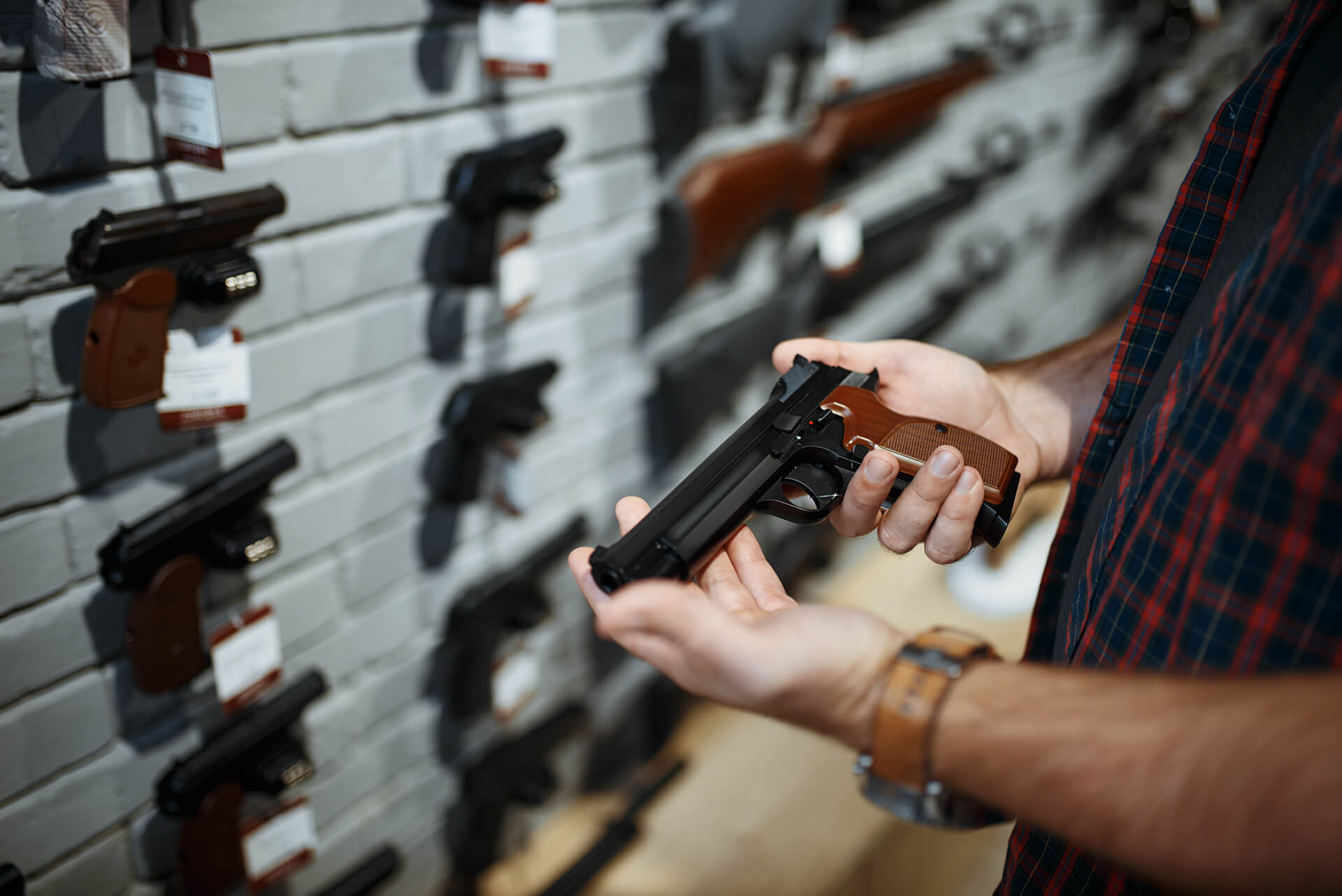 buying handgun